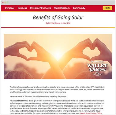Wallet Wisdom Blog and Seminars provide financial tips