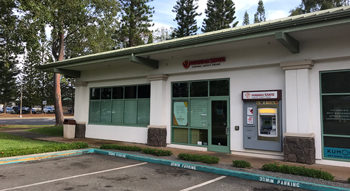 Exterior photo of the Hawaii State FCU Mililani Branch