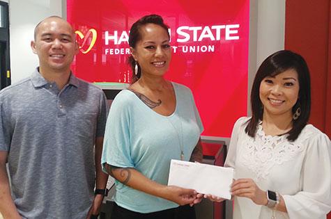 Hawaii State FCU refer a friend winner