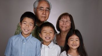 nora kato and her family