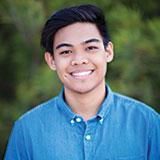 Scholarship recipient Student Andrew Ancheta II