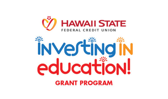 Investing in Education Grant Program logo.