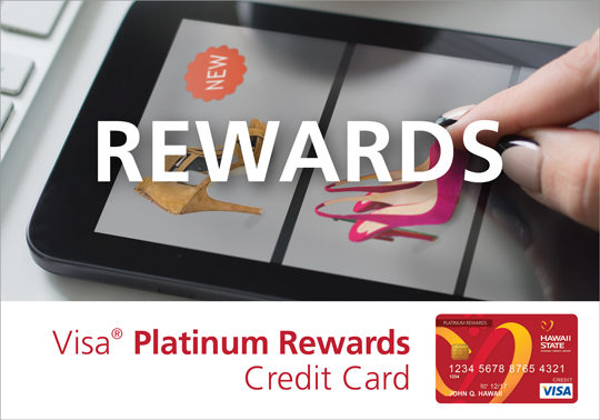 Hawaii State FCU Card Consumer Credit Card Platinum Rewards