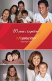 2017 Annual Report cover - 80 years together
