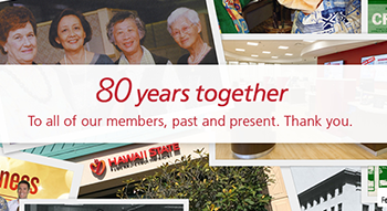 80 Years Together - Member and staff photo collage - featured image