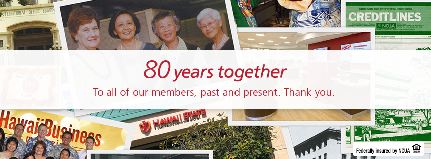 80 Years Together - Member and staff photo collage