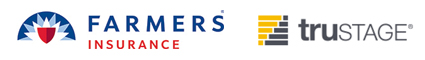 Farmers Insurance and Trustage Logos