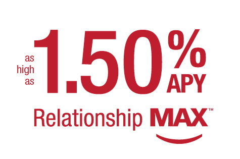 Relationship MAX - as high as 1.50% APY