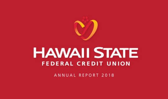 Image of the 2018 Hawaii State FCU Annual Report Cover