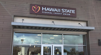 Exterior photo of the Hawaii State FCU Kahului-Puunene Branch