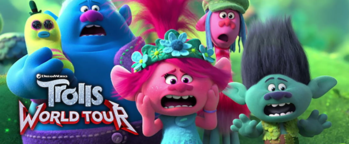 Member Movie Event Graphic featuring Trolls World Tour