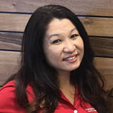 Photo of Kathy HIga, Branch Manager of the Queen Street Branch.