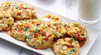 Photo of Bites on a Budget Fruity Pebble Cookies
