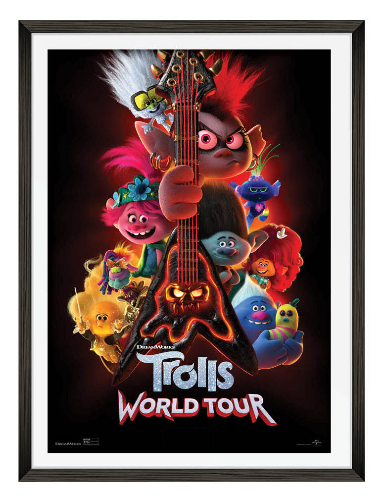 Trolls World Tour Movie Poster-March 2021 event