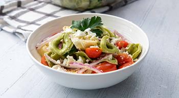 Photo of Bites on a Budget Greek Tortellini Pasta Salad